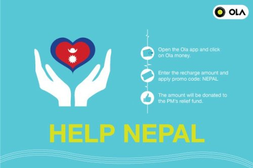 donate nepal money