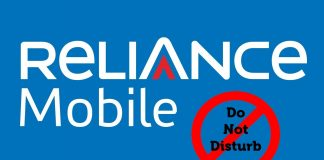 Stop Reliance Pop-Up