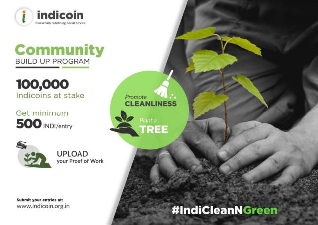 Indicoin Green and Clean Campaign