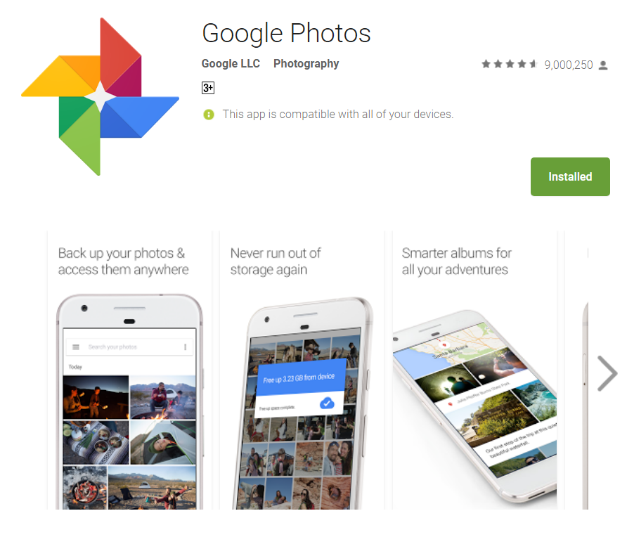 Photo Gallery Free Download For Android Mobile Phone, Tablet